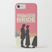 princess bride iPhone & iPod Cases featuring The Princess Bride by mattranzetta