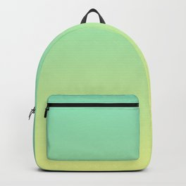 LAKE BY THE SEA - Minimal Plain Soft Mood Color Blend Prints Backpack
