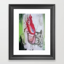 My Burning Bag Framed Art Print