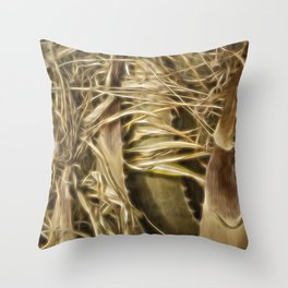 Wild Abandon Throw Pillow