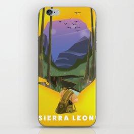 sierra leone iPhone Skin