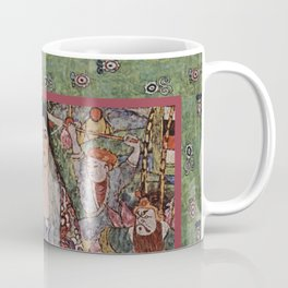 The Woman Who Stepped out of The Picture by Gustav Klimt Coffee Mug
