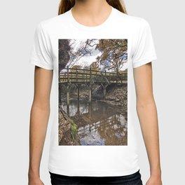 Pooh Bridge In Autumn T-shirt