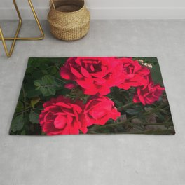 Red Roses for You Rug