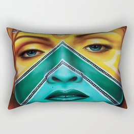 Esther, Inspired by Madonna Rectangular Pillow