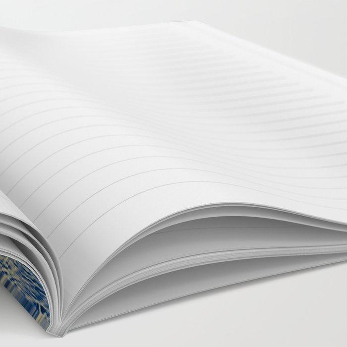 Blue field Notebook