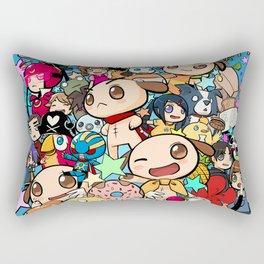 7th Anniversary Rectangular Pillow
