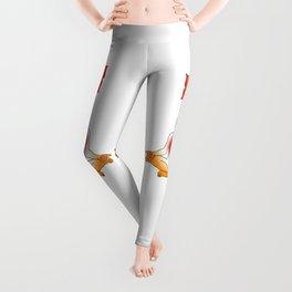 1st Chakra : Muladhara (Root Chakra) Leggings