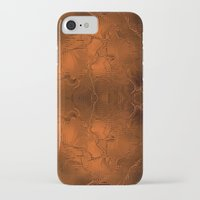 gold foil iPhone & iPod Cases featuring Gold Foil Texture 6 by Robin Curtiss
