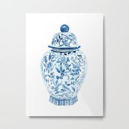 GINGER JAR NO. 5 PRINT Metal Print