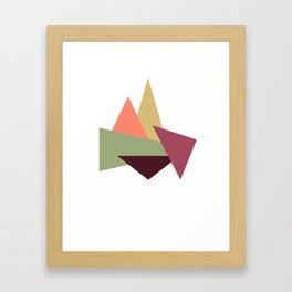 Let's Climb New Heights Framed Art Print