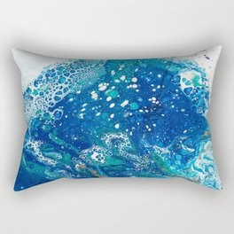 Water Dragon Rectangular Pillow