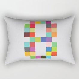 Eight Bit Rectangular Pillow