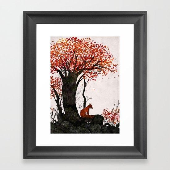 Fantastic Mr. Fox Doesn't Feel So Fantastic Anymore Framed Art Print