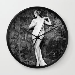 Hazel Forbes - Actress, dancer, and Ziegfeld girl Wall Clock