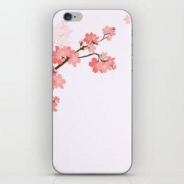 Blooming cherry tree iPhone Skin
