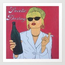 Patsy Darling Art Print