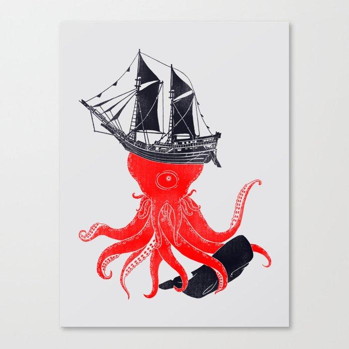 Beware Canvas Print