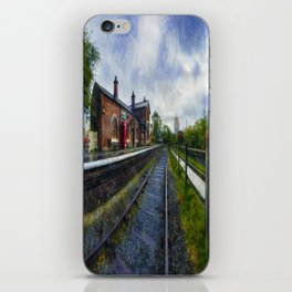 Olde Road Railway Station iPhone Skin