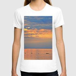 Golden Sunset Sparkle T-shirt