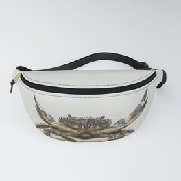 Open arms crab Fanny Pack