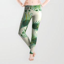 summer green Leggings
