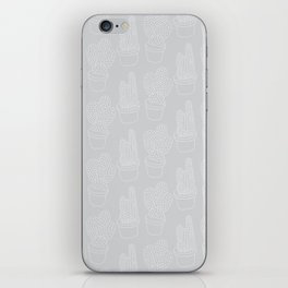 Subtle Cacti iPhone Skin