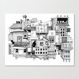 This Town Canvas Print