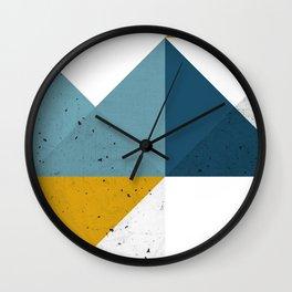 Modern Geometric 19 Wall Clock