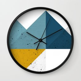 Modern Geometric 19 Wall Clock