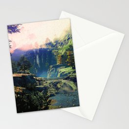 A river rest Stationery Cards