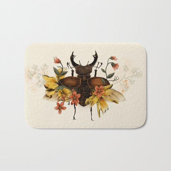 Blooming Beetle Bath Mat