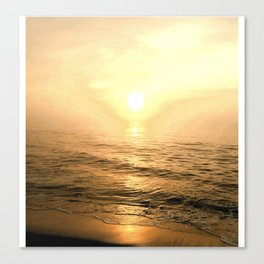 Gold Dawn Canvas Print