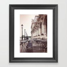Paris, Cafe Marli Framed Art Print