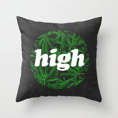High Throw Pillow
