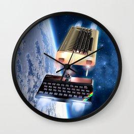 Commodore 64 vs Sinclair ZX Spectrum Wall Clock