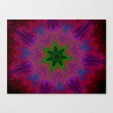 Kaleidoscope 'K1 SN' Canvas Print