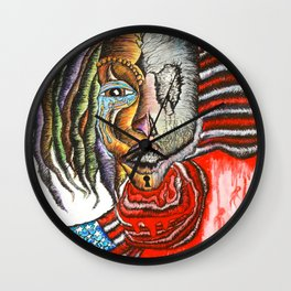 AMAZING DISGRACE Wall Clock