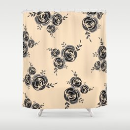 Roses pattern Shower Curtain