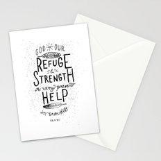 14/52: Psalm 46:1  Stationery Cards