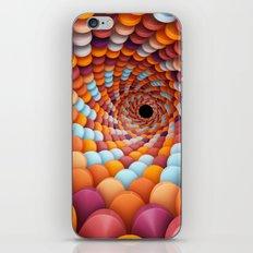 Colorful Portal iPhone Skin