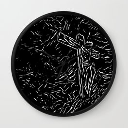 The God ( Modern Religious Art ) Wall Clock