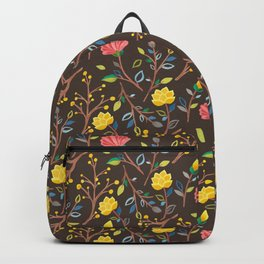 Korean Jogakbo (Patchwork) Print Backpack