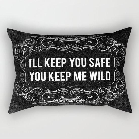 KEEP YOU WILD Rectangular Pillow