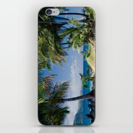Welcome to Paradise iPhone Skin