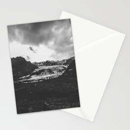 Ice giant - black and white landscape photography Stationery Cards
