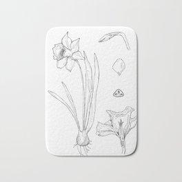 Daffodil Bath Mat
