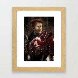 Krem - Dragon Age/Mass Effect crossover Framed Art Print