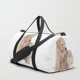 Golden retrievers Duffle Bag