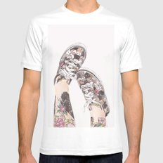 Shoes MEDIUM Mens Fitted Tee White